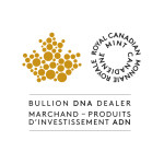 Aaron Buys Gold is an Authorized Royal Canadian Mint Bullion DNA Dealer