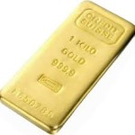 A 1 Kilo Gold Bar from Credit Suisse