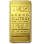 10 Oz Gold bar by Johnson Matthey