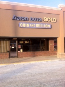 Aarons Buys Gold Ltd Store Front Located at 947 Ordze Road Sherwood Park, Alberta.